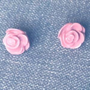 Ann Taylor Dusty Rose Earrings